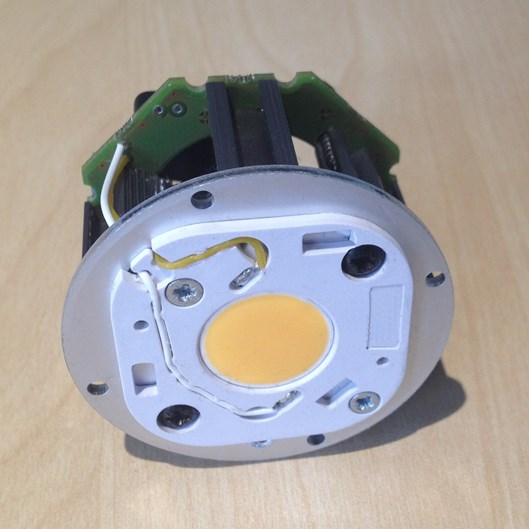 LEDengine front view showing Sharp MegaZeni LED