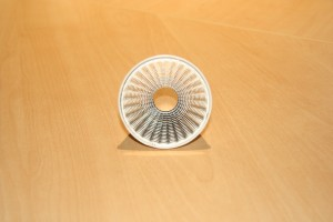 LED reflectors 2 of 3 - Mega series 50mm diameter front view