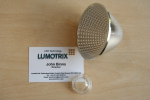 85mm LED reflector for Bridgelux Vero 18
