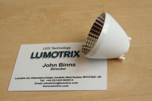 41mm LED reflector for Bridgelux ES Star, Cree CXA1507 &1512, Sharp MiniZeni
