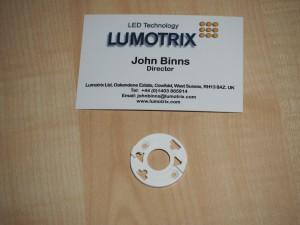 BRHV010-P holder for Bridgelux V10 LED